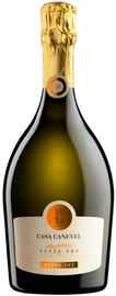 Вино игристое белое сухое  «Casa Canevel Cuvee Oro Extra Dry»