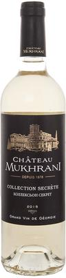 Вино белое сухое «Chateau Mukhrani Collection Secrete Blanc»
