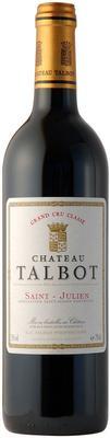 Вино красное сухое «Chateau Talbot» 2015 г.
