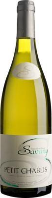 Вино белое сухое «Petit Chablis Savary» 2018 г.