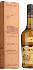 Кальвадос «Calvados Pierre Huet Fine Pays d Auge» в подарочной упаковке