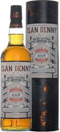 Виски односолодовый «Dailuaine Clan Denny» в тубе