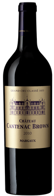 Вино красное сухое «Chateau Cantenac Brown Grand cru Margaux» 2011 г.