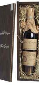 Арманьяк «Baron G. Legrand 1974 Bas Armagnac» в деревянной подарочной упаковке