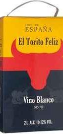 Вино белое сухое «El Torito Feliz (Tetra Pak)»