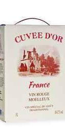 Вино красное полусладкое  «Cuvee D' Or (Tetra Pak)»