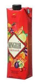 Напиток винный ароматизированный «Sangria Cruzares (Tetra Pak)»