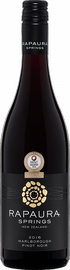 Вино красное сухое «Rapaura Springs Pinot Noir Marlborough» 2016 г.