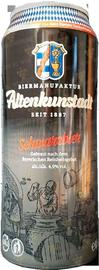 Пиво «Altenkunstadt Schwarzbier» в жестяной банке