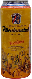 Пиво «Altenkunstadt Weizbier» в жестяной банке