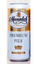Пиво «Mannlich International Premium Pils » в жестяной банке