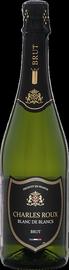 Вино игристое белое брют «Charles Roux Blanc de Blancs»