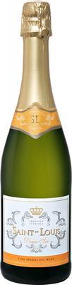 Вино игристое белое полусухое «Saint-Louis»
