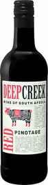 Вино красное сухое «Deep Creek Pinotage» 2017 г.
