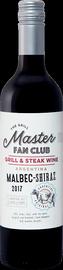 Вино красное полусухое «Grill Master Fan Club Malbec-Shiraz»