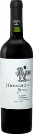 Вино красное сухое «J. Bouchon Cabernet Sauvignon Reserva» 2017 г.