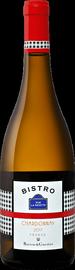 Вино белое сухое «Bistro Rue La Fayette Chardonnay» 2017 г.