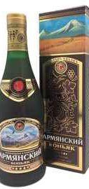 Коньяк армянский «Армянский коньяк 5 звезд» в подарочной упаковке