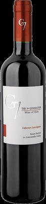 Вино красное сухое «G7 Cabernet Sauvignon, 0.75 л» 2018 г.