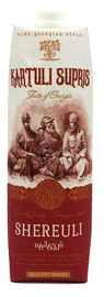 Вино столовое красное полусладкое «Kartuli Supris Купажное красное (Tetra Pak)»