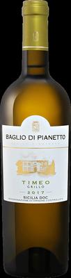 Вино белое сухое «Timeo Grillo» 2017 г.