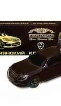 Коньяк армянский «Армянский коньяк Мерседес черный» в подарочной упаковке