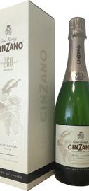 Вино игристое белое брют «Cinzano Cuvee Vintage 260 Brut» в подарочной упаковке