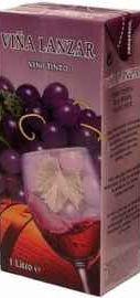 Вино красное сухое «Vina Lanzar Tinto»