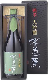 Саке «Mizubasho Jyummadaiginjo Premium» в подарочной упаковке