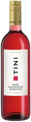 Вино розовое полусухое «TINI Rose Sangiovese Rubicone» 2018 г.