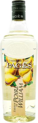 Ликер «Pages Poire William»