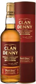 Виски шотландский  «Speyside Clan Denny» в тубе
