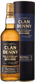 Виски шотландский «Islay Clan Denny» в тубе