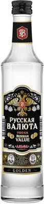 Водка «Русская Валюта Голден, 0.25 л»
