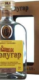 Водка «Полугар Русская Рюмочная №1» в подарочной упаковке