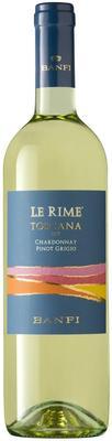 Вино белое полусухое «Le Rime Toscana, 0.75 л» 2018 г.