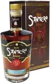 Ром «Santero 15 Anos» в подарочной упаковке