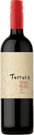Вино красное сухое «Terralis Shiraz-Malbec»