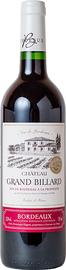 Вино красное сухое «Chateau Grand Billard» 2016 г.
