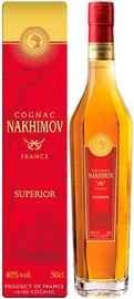 Коньяк французский «Nakhimov Superior 8 Years Old» в подарочной упаковке