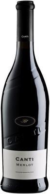 Вино красное сухое «Canti Merlot Terre Siciliane» 2017 г.