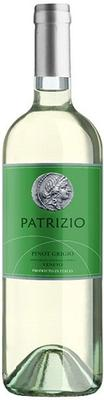 Вино белое сухое «Patrizio Pinot Grigio, 0.75 л» 2018 г.