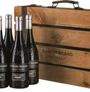 Вино красное сухое «Ramon Bilbao Edicion Limitada» 2015 г., в деревянной подарочной коробке (набор из 6 бутылок)