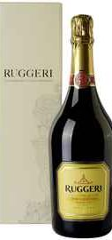 Вино игристое белое сухое «Ruggeri Prosecco Valdobbiadene Giall Oro» в подарочной упаковке