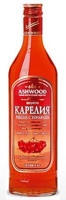 Аперитив «Карелия со вкусом рябины с коньяком»