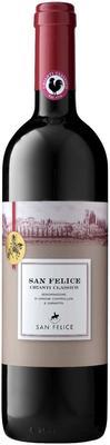 Вино красное сухое «Chianti Classico San Felice» 2017 г.