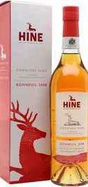 Коньяк французский «Hine Domaines Hine Bonneuil Grande Champagne» 2008 г. в подарочной упаковке