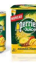 Газированный напиток «Perrier газированный с соком ананас-манго»
