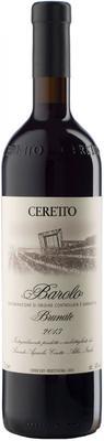 Вино красное сухое «Ceretto Barolo Brunate» 2013 г.
