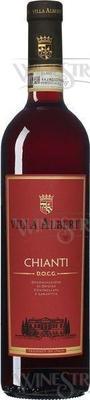 Вино красное сухое «Chianti Villa Albert» 2018 г.